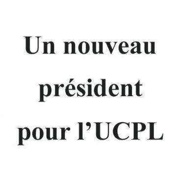 Un nouveau président pour l'UCPL